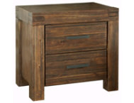 Meadowbrook 2Drawer Nightstand
