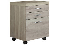 Lily Beige Filing Cabinet