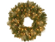 30  Carolina Wreath w  Lights