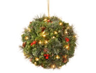 16  Spruce Kissing Ball w  LED