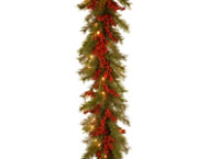 shop 9ft Valley Garland w/ LED