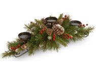 shop Pine Multi Candle Holder