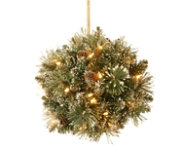 12  Pine Kissing Ball w  LED
