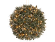 16  Pine Kissing Ball w  LED