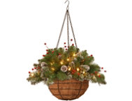 Mountain Hanging Basket w  LED