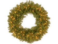 30  Fir Wreath w  LED