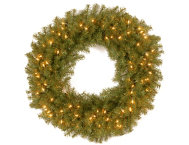 36  Fir Wreath w  LED