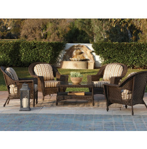 5 Piece Patio Chat Set