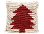 Red Xmas Tree 20x20 Pillow