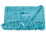 Rosemont Teal Throw Blanket