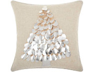Silver Tree 16x16 Pillow