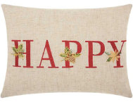 shop Happy Holidays 16x12 Pillow