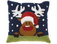 shop Holiday Rudolph 18x18 Pillow