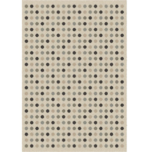 Dot Lambswool 5x8 Rug
