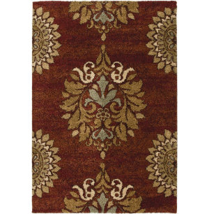 Jacquline Rouge 5'3x7'6 Rug