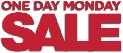 One Day Holiday Sale Logo