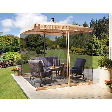 Home / Furniture / Seasonal / Clearance Center Patio. Shop 10u0027 Tan  Cantilever Umbrellas Main