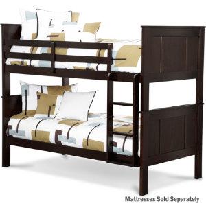 twin bunk bed art van furniture. Black Bedroom Furniture Sets. Home Design Ideas