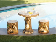 3-Piece-Deer-Garden-Set