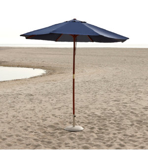 9' Market Umbrella Blue