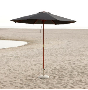 9' Market Umbrella Black
