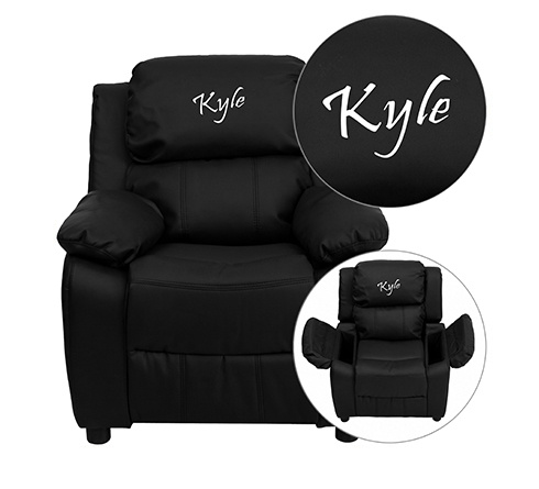 This petite sized recliner features storage arms so kids can store items away and retrieve at their convenience. Personalize your recliner with your childu0027s ...  sc 1 st  Art Van Furniture & Art Van Furniture | Affordable Home Furniture Stores u0026 Mattress Stores islam-shia.org