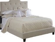All-N-One Queen High Back Bed