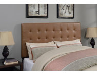 Biscuit Cognac Queen Headboard
