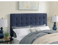 Biscuit Denim King Headboard