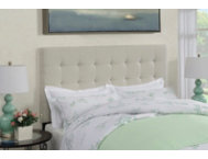 Biscuit Linen King Headboard