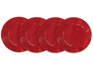 Ruffle Salad Plate  Set of 4