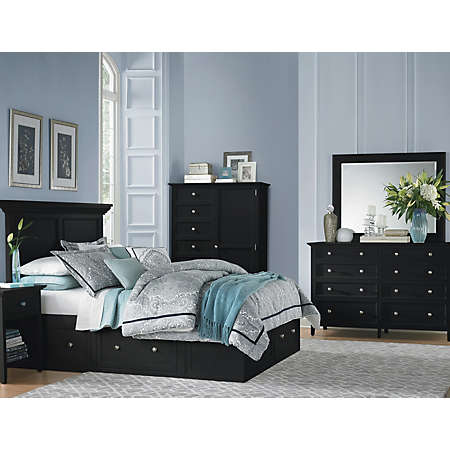 Abbott Black Collection | Master Bedroom | Bedrooms | Art Van ...