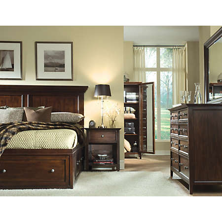 abbott collection | master bedroom | | art van furniture - the