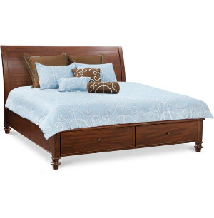 Avila King Sleigh Storage Bed