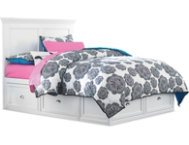 Full Panel Bed - 2Side Storage
