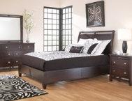 Hudson 2 drawer nightstand art van furniture for Art van furniture bedroom sets