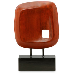 Sculpture Glossy Red | Small Indulgences | Accessories | Art Van ...