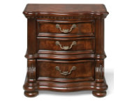 San Marino 3 Drawer Nightstand