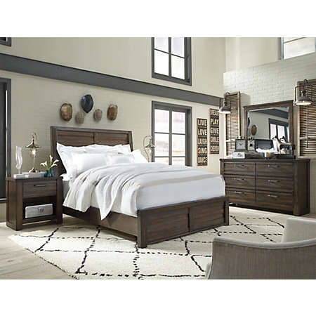 Ruff Hewn Collection | Master Bedroom | Bedrooms | Art Van ...