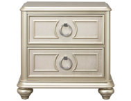 Dynasty 2 Drawer Nightstand