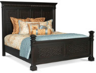 Buckingham King Panel Bed