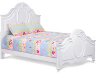 Sweetheart Full Panel Bed