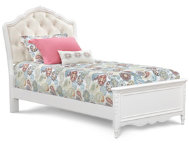 shop Sweetheart Twin Uph. Bed