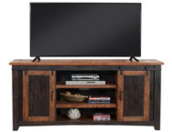 Taos 65  Black TV Stand