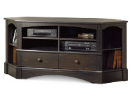 Harbor View Corner Tv Stand Black Art Van Furniture