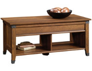 Carson Cherry Lift-Top Table