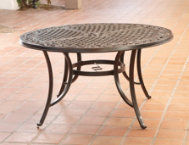 Elyse 52 Round Cast Top Table