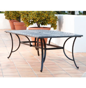 Elyse 44x84 Cast Top Table