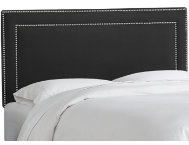 shop Queen-Black-Nailhead-Bed