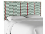 Twin Twill Evergreen Headboard